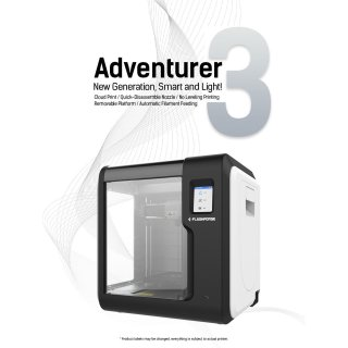 FlashForge Adventurer 3 - 3D Drucker
