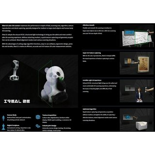 ScanTech iReal 2E Color 3D Scanner