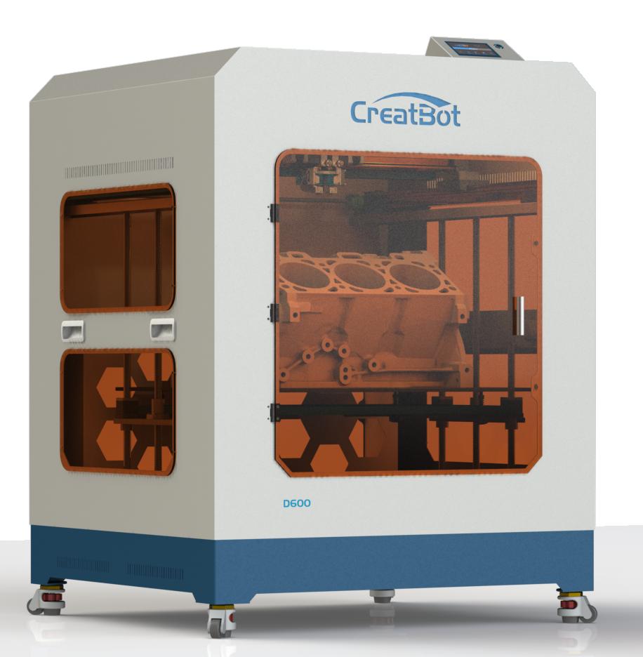 Industrieller 3D-Drucker CreatBot D600 Pro